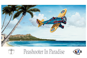 Peashooter in Paradise by Marc Stewart