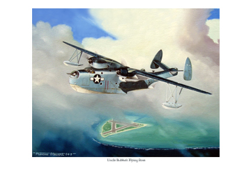 Uncle Bubba's Flying Boat by Marc Stewart